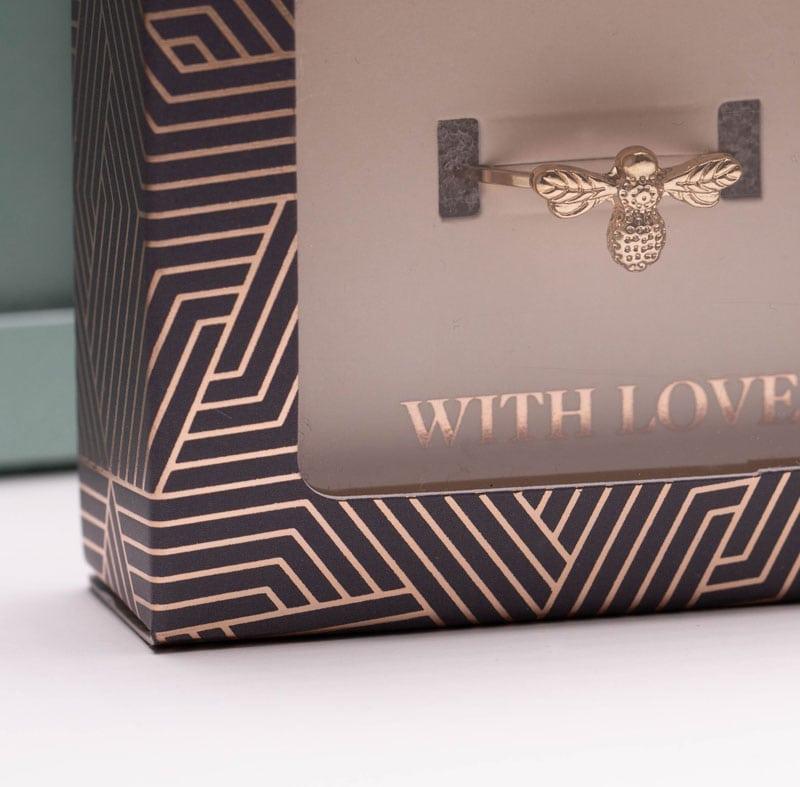 We create custom jewellery packaging for Marks & Spencer
