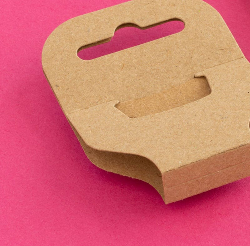 We create recycled jewellery packaging for Oxfam