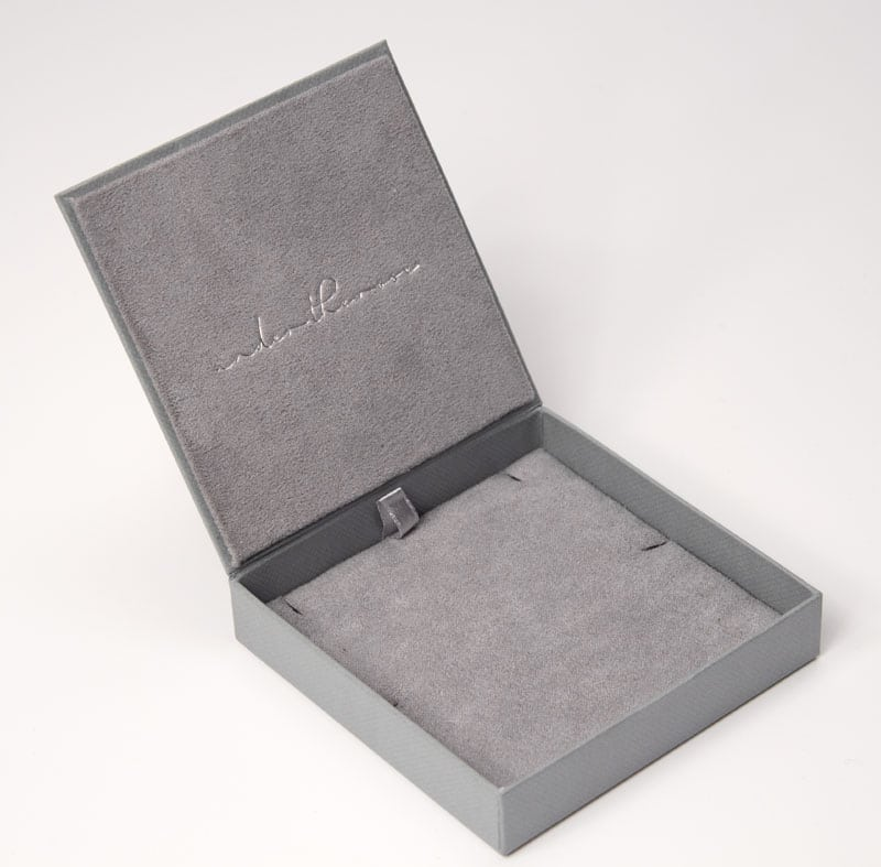 Our bespoke jewellery packaging gives a memorable unboxing experience to customers of Under the Rose