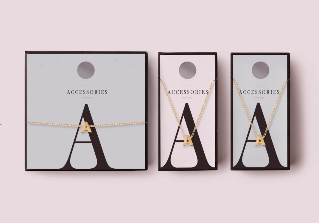 Bold typography is one of the creative packaging design trends for 2019
